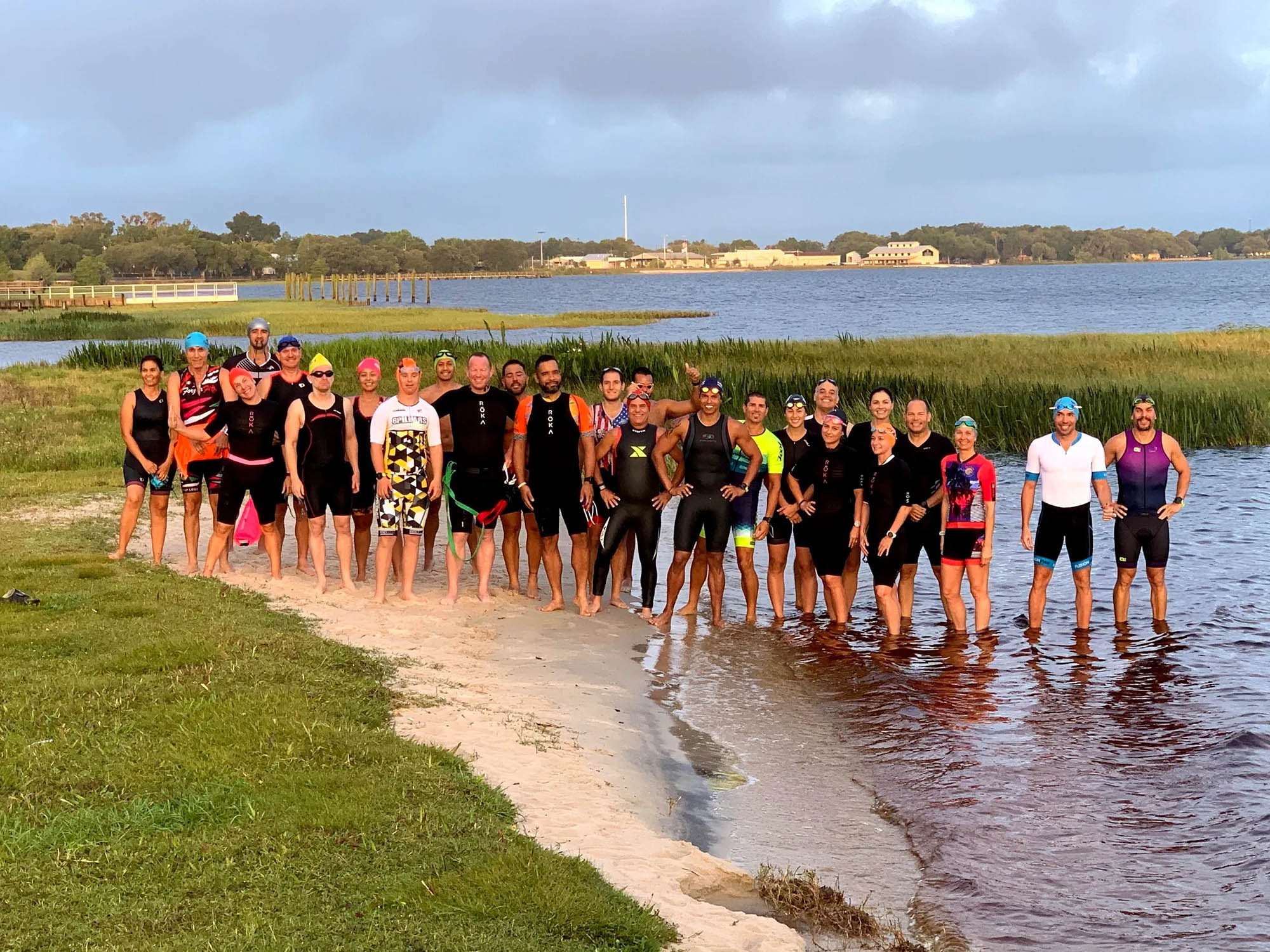 Chris-at-Clermont-Lake-with-TriClub